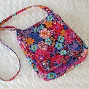 Vera Bradley Floral Fiesta hipster Crossbody Bag